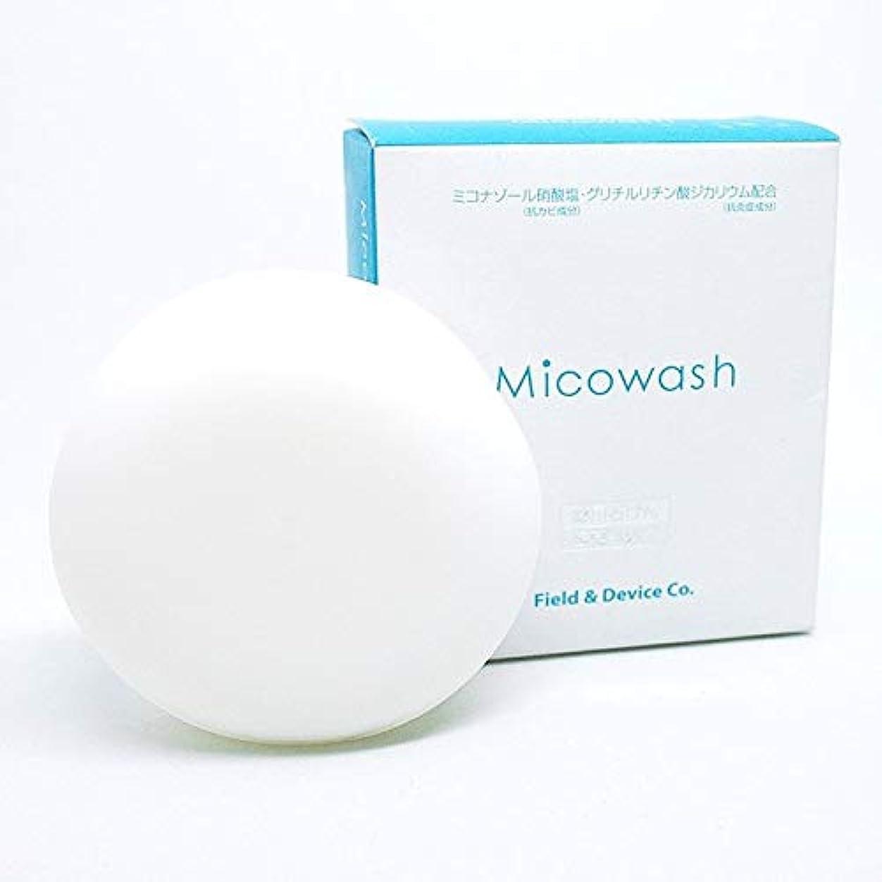 副プレゼン辛いフィールドアンドデバイス Micowash ミコウォッシュ 100g 医薬部外品