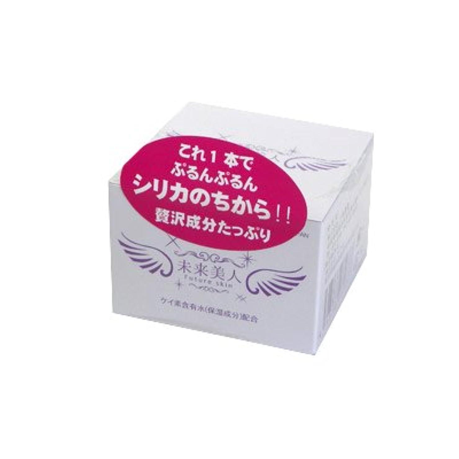 継続中書道分析する未来美人 化粧用ジェル 100g