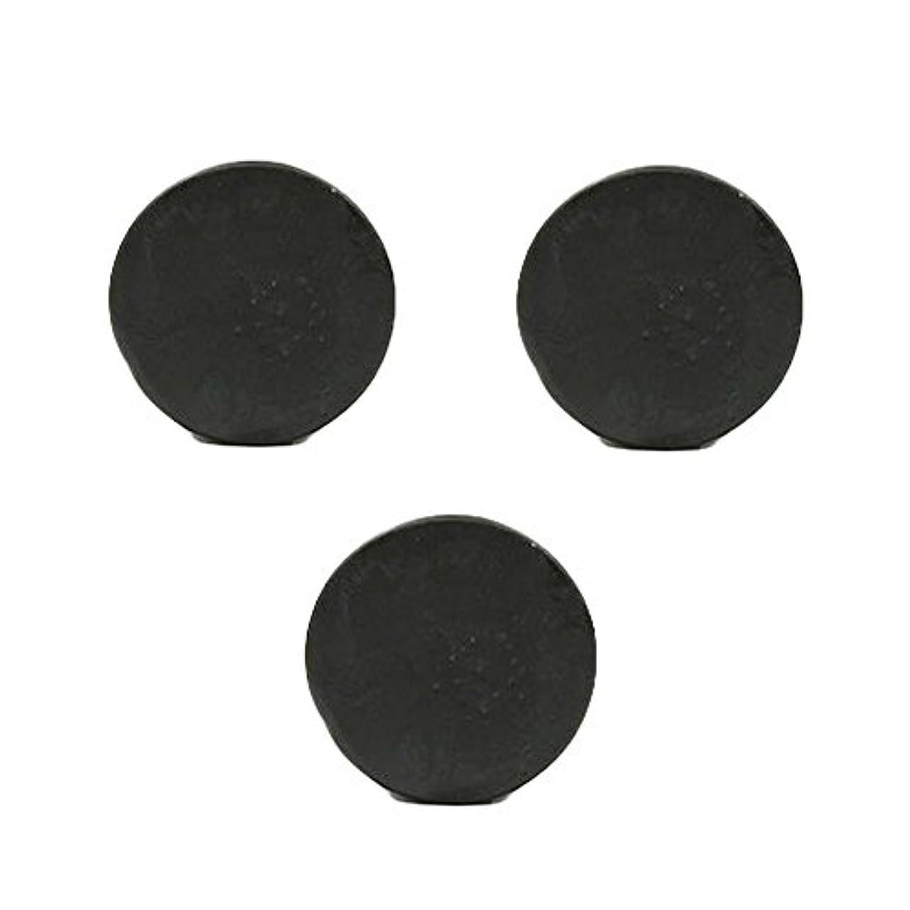 不要扱いやすいミニ薬用人参クレンジングソープ3個 / Fermented Dark Black Ginseng Cleansing Soap 3pcs[海外直送品] [並行輸入品]