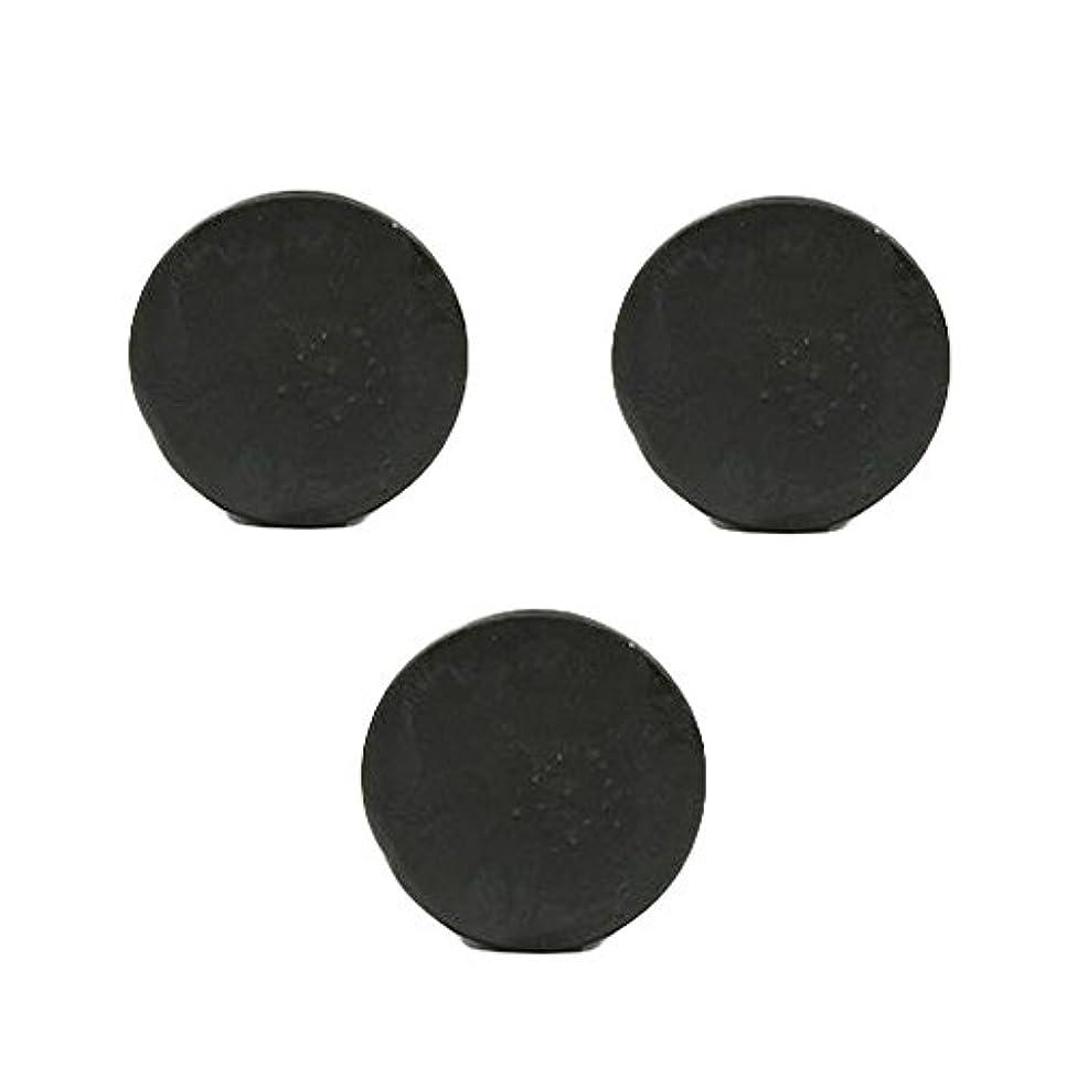 系統的城触覚薬用人参クレンジングソープ3個 / Fermented Dark Black Ginseng Cleansing Soap 3pcs[海外直送品] [並行輸入品]