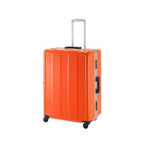 プラスワン|スーツケース|アドヴァンス Booon(ブーン) フレームタイプ【67cm】120-67パッションオレンジ