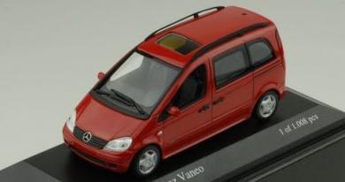 ミニチャンプス 400031202 1/43 メルセデス ベンツ バネオ 2002 MINICHAMPS Mercedes-Benz