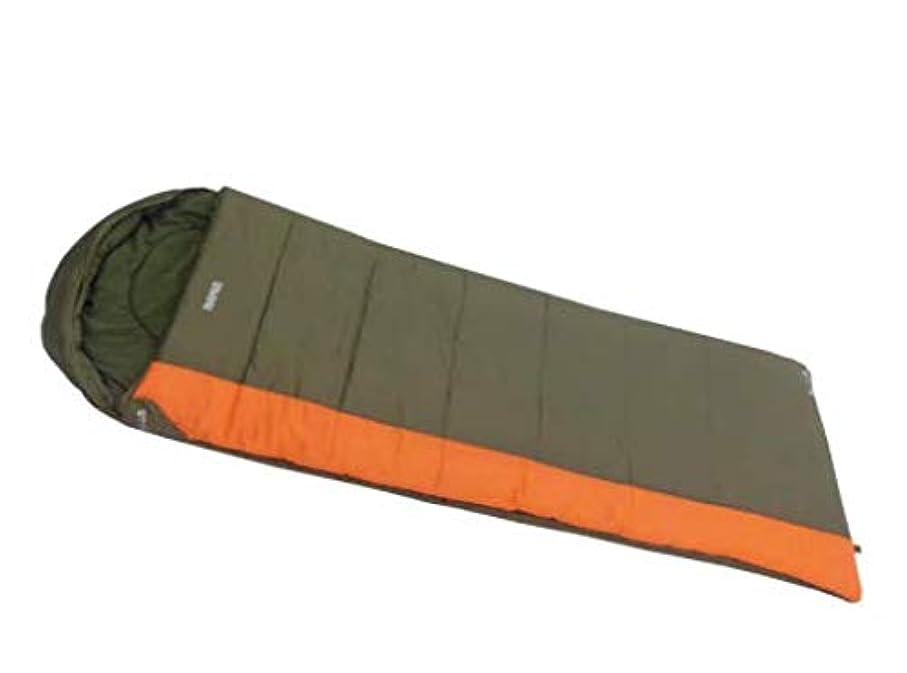 偏見機会宿泊フリース二層暖かい屋外のキャンプの寝袋大人の寝袋