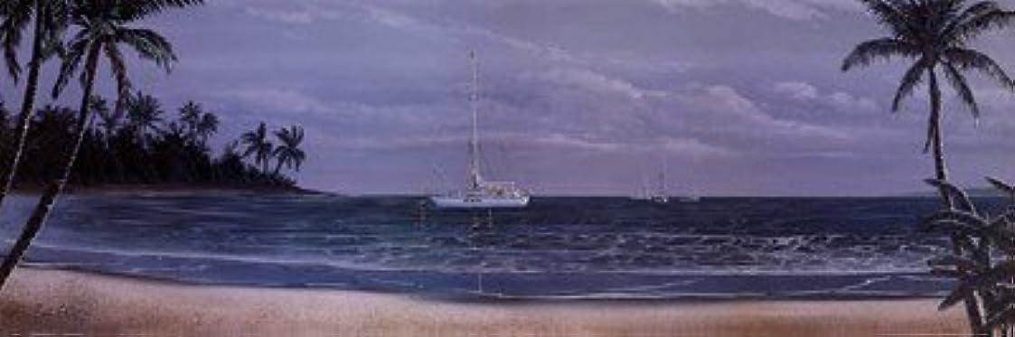 シャーロットブロンテ競争力のある調整MoonlitパラダイスI by Paul Geatches – 36 x 12インチ – アートプリントポスター LE_123432
