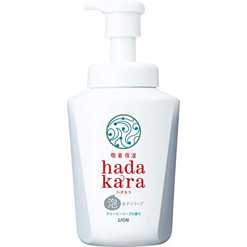 hadakara(ハダカラ) ボディソープ 泡タイプ クリーミーソープの香り 本体550ml 500ml