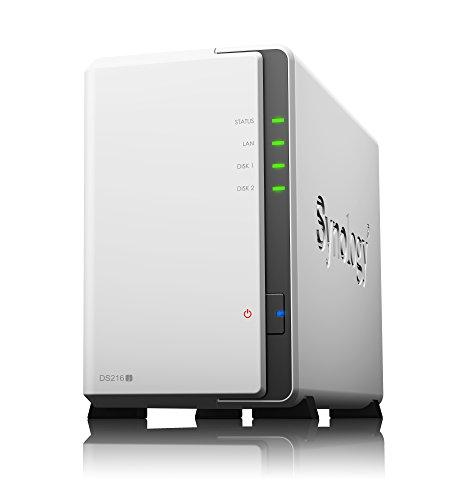 Synology DiskStation DS216j デュアルコアCPU 2ベイNASキット DTCP-IP対応可 CS6426 -