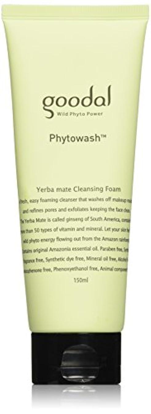狐岩ブローホールGoodal Phyto Yerba mate Cleansing Foam(150ml)