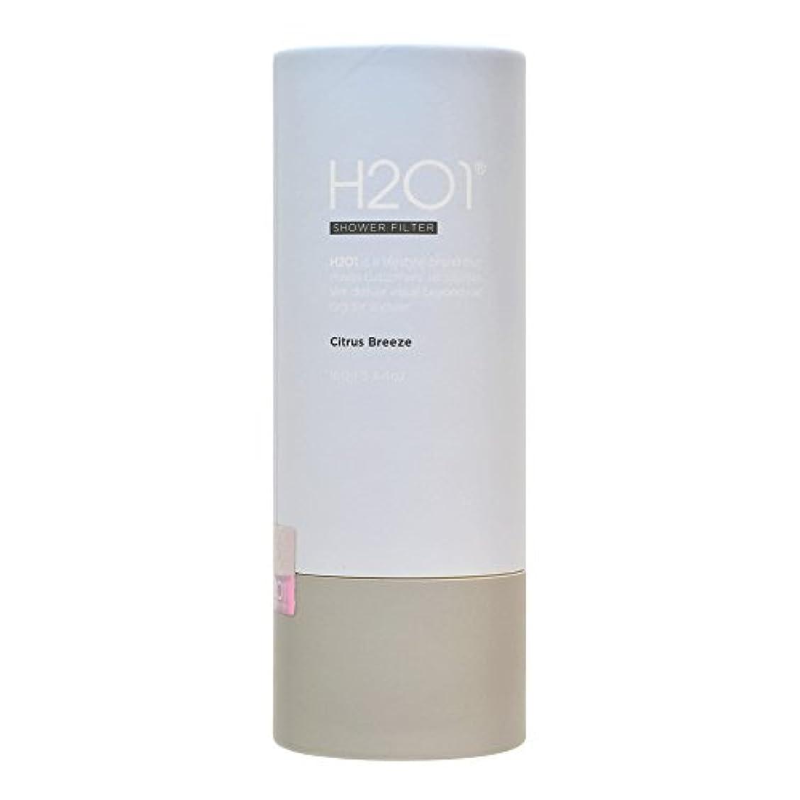西部勧める常習者H2O1 (エイチツーオーワン) シャワーフィルター シトラスブリーズ