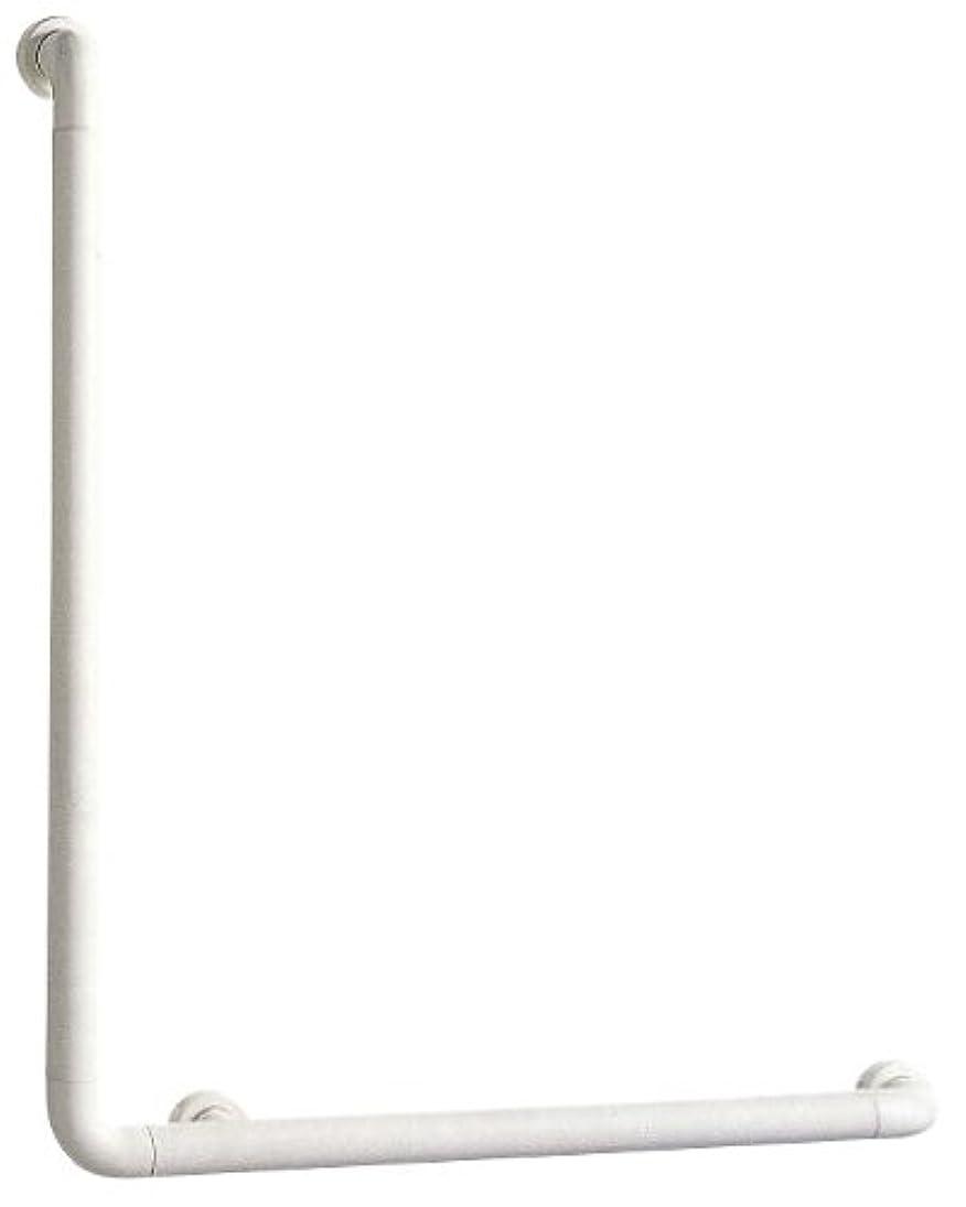 有毒なホストエキスSANEI 【介護?手すり】 ソフトバーL型 バーの直径34mm?長さ700×600mm W580-J
