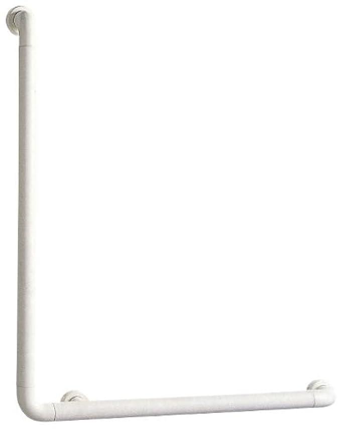 十一エネルギー日記SANEI 【介護?手すり】 ソフトバーL型 バーの直径34mm?長さ800×600mm W580-N