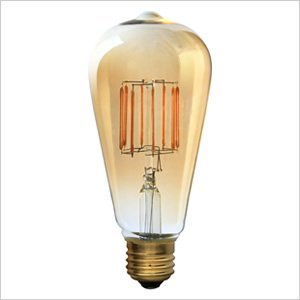 RoomClip商品情報 - ビートソニック LED電球 《Siphon》 エジソン形 30W相当 全光束400lm 暖系電球色 E26口金 調光器対応 LDF30A