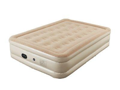 電動エアベッドワイドサイズ(199x134×厚さ48cm) 極厚 収納簡単 電動ポンプ内蔵 空気ベッド エアーマット 高反発 宿泊客 お昼寝