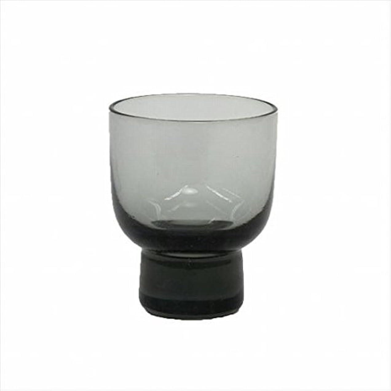 の間にディスク櫛カメヤマキャンドル(kameyama candle) ロキカップ 「 スモーク 」