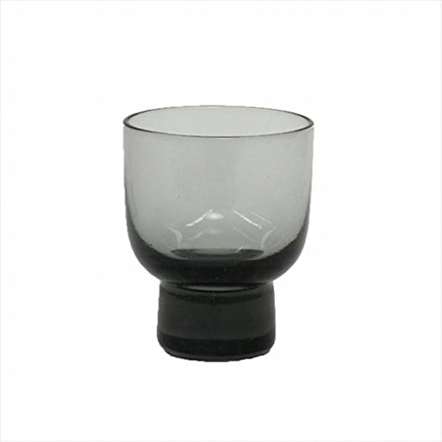 バイオレット溶接シフトカメヤマキャンドル(kameyama candle) ロキカップ 「 スモーク 」