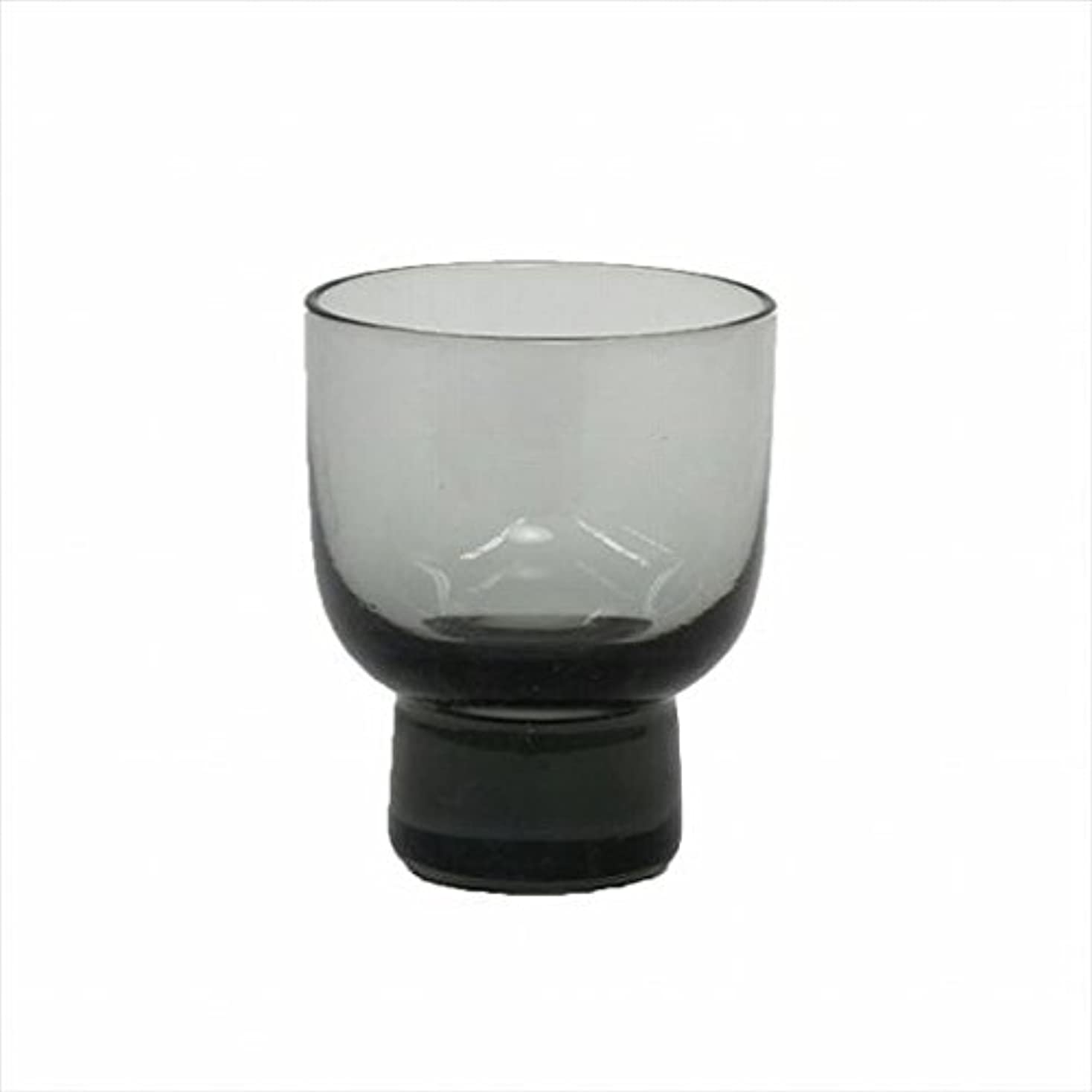 収容するあるパフカメヤマキャンドル(kameyama candle) ロキカップ 「 スモーク 」