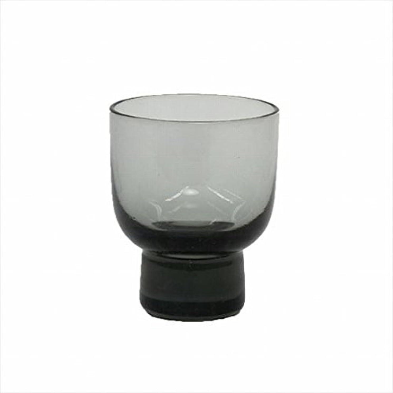 販売計画付けるアブストラクトカメヤマキャンドル(kameyama candle) ロキカップ 「 スモーク 」