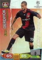 Champions League Adrenalyn 2011/2012 Eren Derdiyok Fans Favourite 11/12 [Toy]