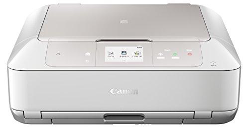 Canon インクジェットプリンター複合機 PIXUS MG7730 WH ホワイト