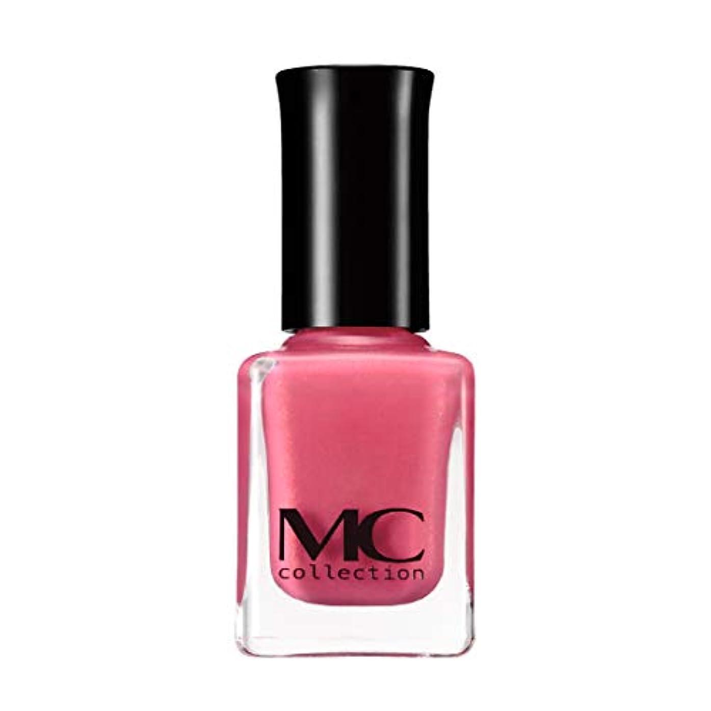 比較的排気人道的マニキュア ネイルカラー N21 ピンク ( パール入 ネイルポリッシュ 日本製 ) 【 MCコレクション 】