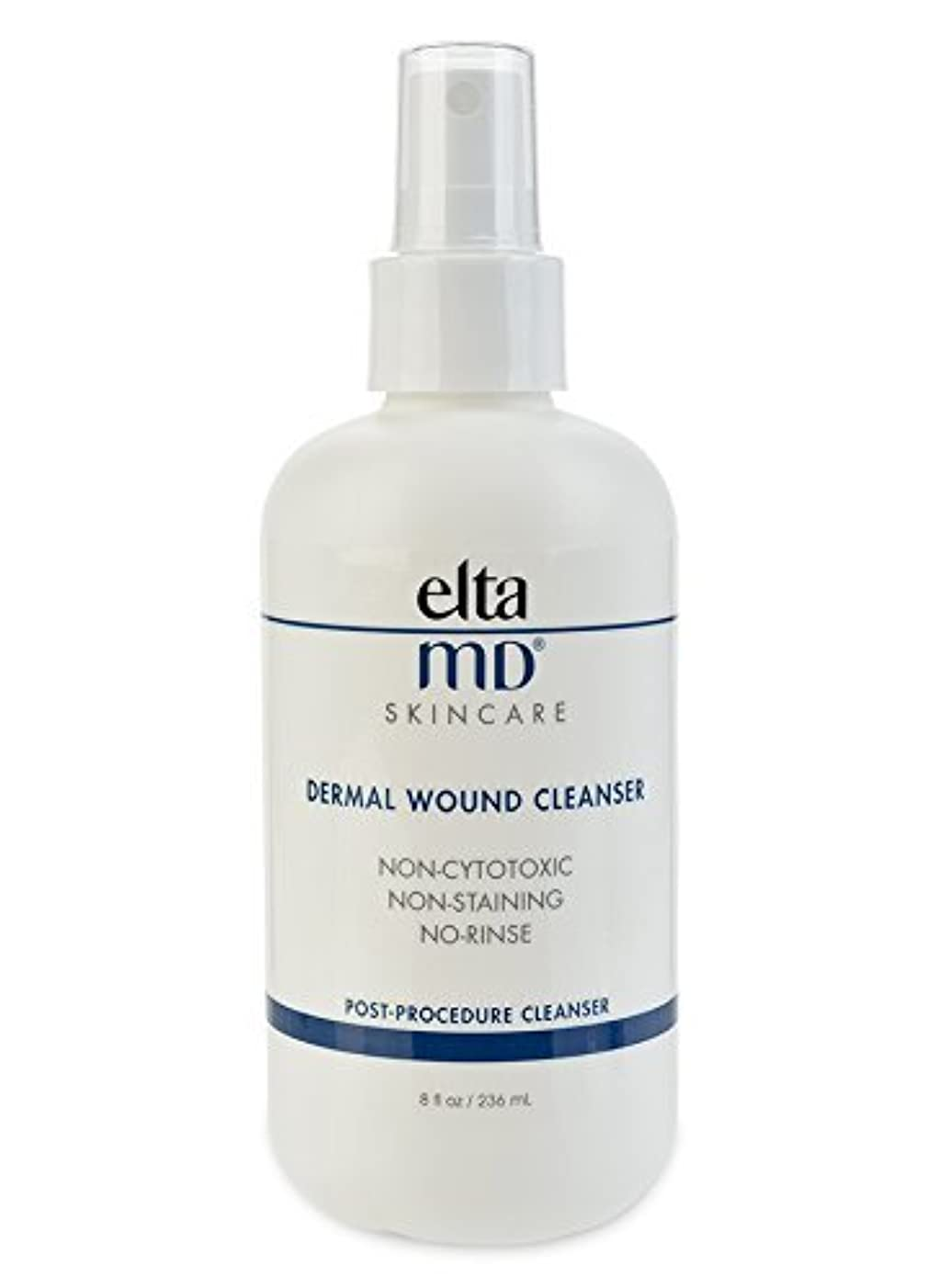 不良品簡単に店員エルタMD Dermal Wound Cleanser (with 21 Lint-Free Cosmetic Pads) 236ml/8oz並行輸入品