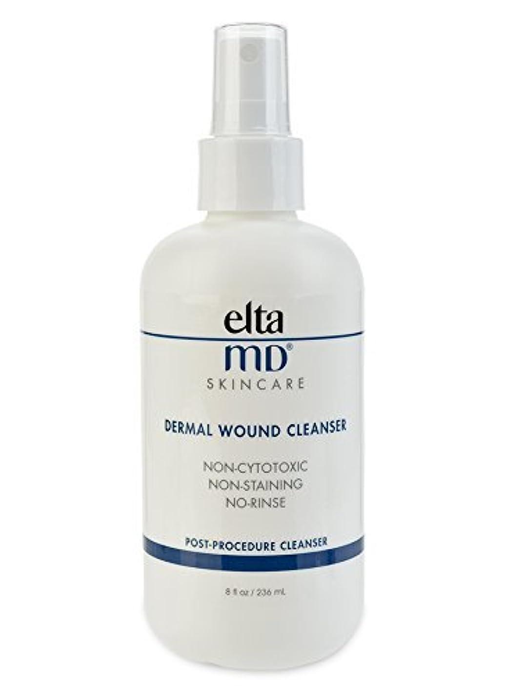 コンベンション長さ関連付けるエルタMD Dermal Wound Cleanser (with 21 Lint-Free Cosmetic Pads) 236ml/8oz並行輸入品