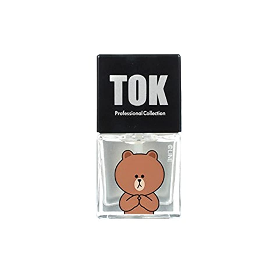 勇気のあるシャット目の前のTOK Line Friends ネイル基本ケア ベースコート トップコート キューティクルオイル キューティクルリムーバー 栄養剤 /TOK Line Friends Nail Hybrid Basic Care[海外直送品...