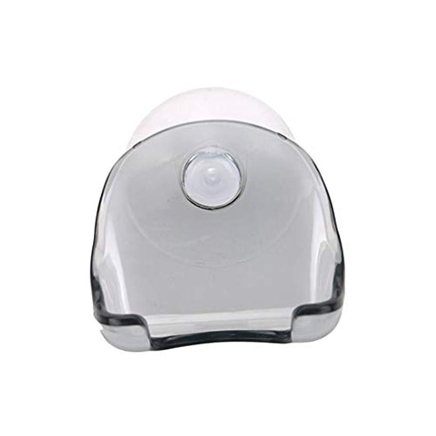 ハリケーンソロ摂氏度1180の実用的なポータブル吸盤型剃刀ホルダープラスチック製のカミソリの保管ラックバスルームラック旅行必需