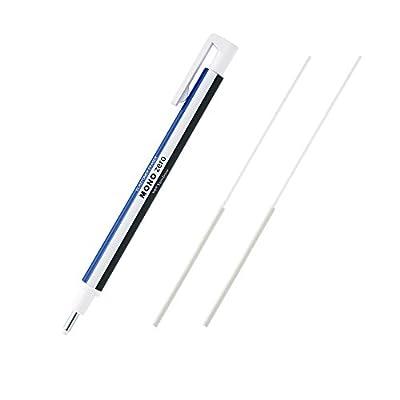 トンボ鉛筆 モノゼロ丸型 つめ替え消しゴム付き