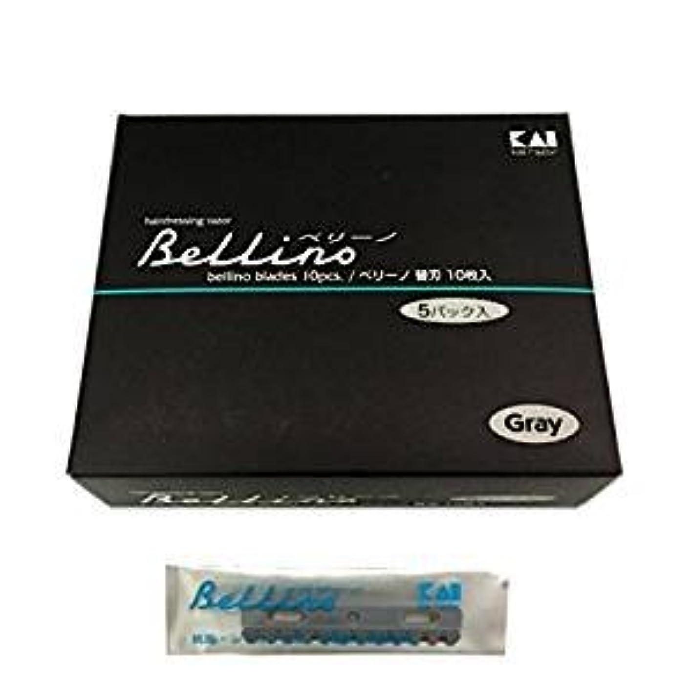 反毒対処する郵便物ベリーノ替刃10枚入りX5パック