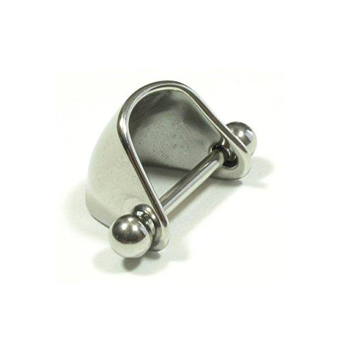 [해외]JEWELS (쥬에 루즈) 와이드 커프스 바벨 | 18G | 16G 바디 피어싱 나선 귀 피어싱 연골 귀걸이 이야로부 스테인레스 알레르기 프리/JEWELS (Jewels) Wide Cufflink Barbell | 18G | 16G Body Piercing Helix Ear Piercing Cartilage Earring Yearlov...