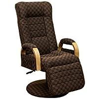 昇降式リクライニングチェア 【フット付き】 ナチュラル 肘付き 座面360度回転 レバー式【代引不可】 生活用品 インテリア 雑貨 インテリア 家具 椅子 その他の椅子 top1-ds-1651561-ah [簡素パッケージ品]