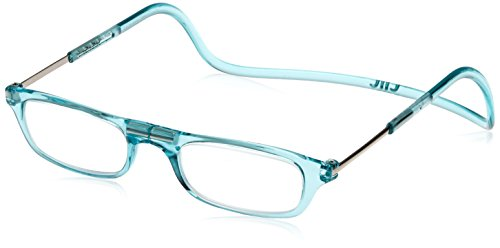 (クリックリーダー)Clic Readers 老眼鏡 ターコイズ +3.50 老眼