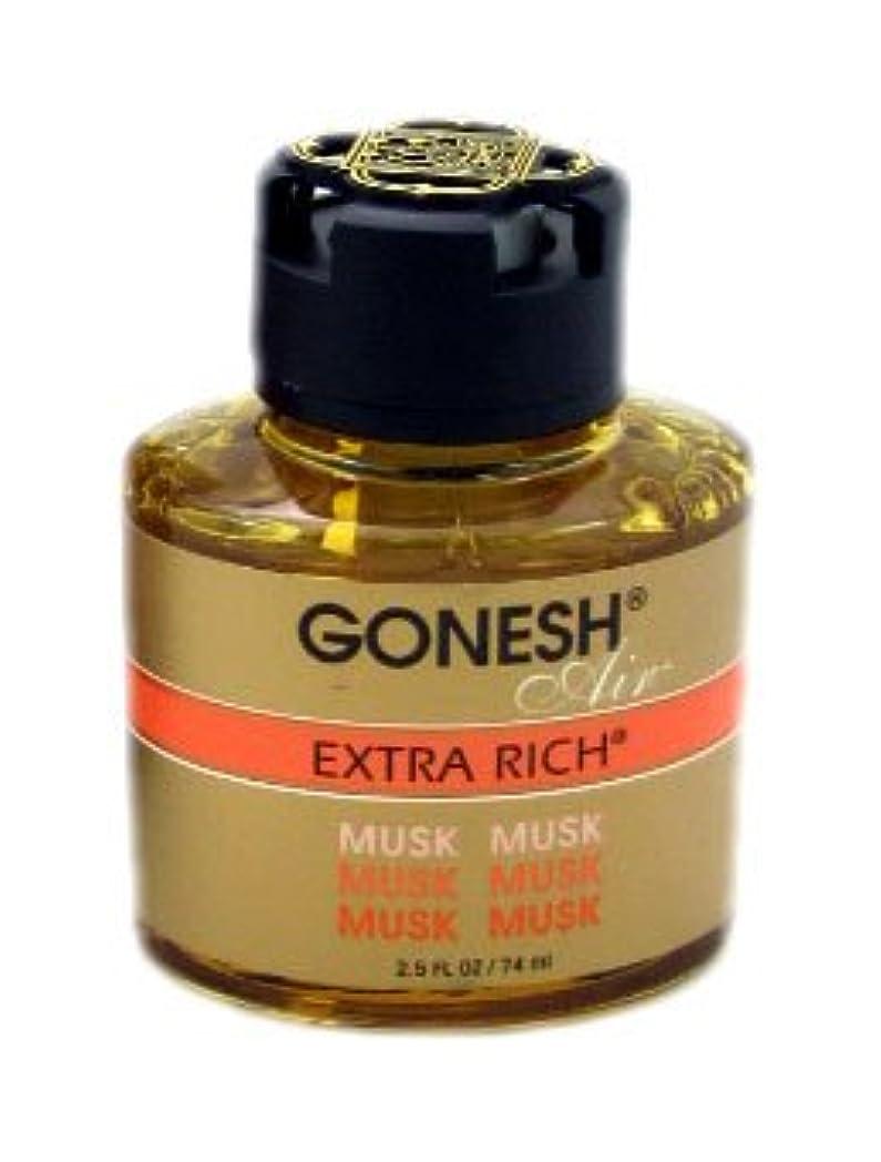 瞑想的意図する雑草GONESH リキッドエアフレッシュナー ムスク