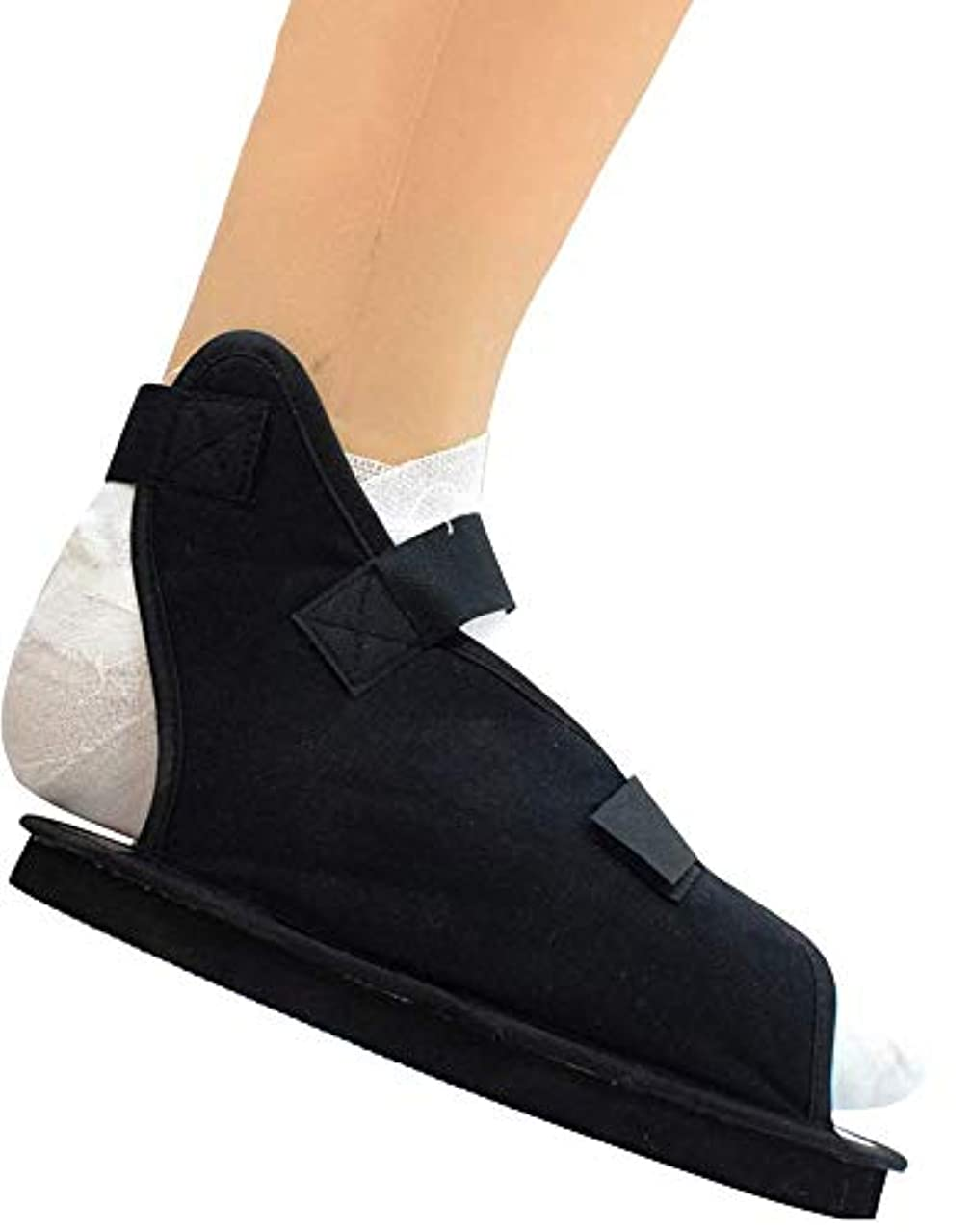 大聖堂石炭画像骨折したつま先/足の骨折のための術後靴 - 男性と女性のための医療/外科用ウォーキングシューズキャストブーツ - /調整可能ストラップ付き整形外科サンダル,XL