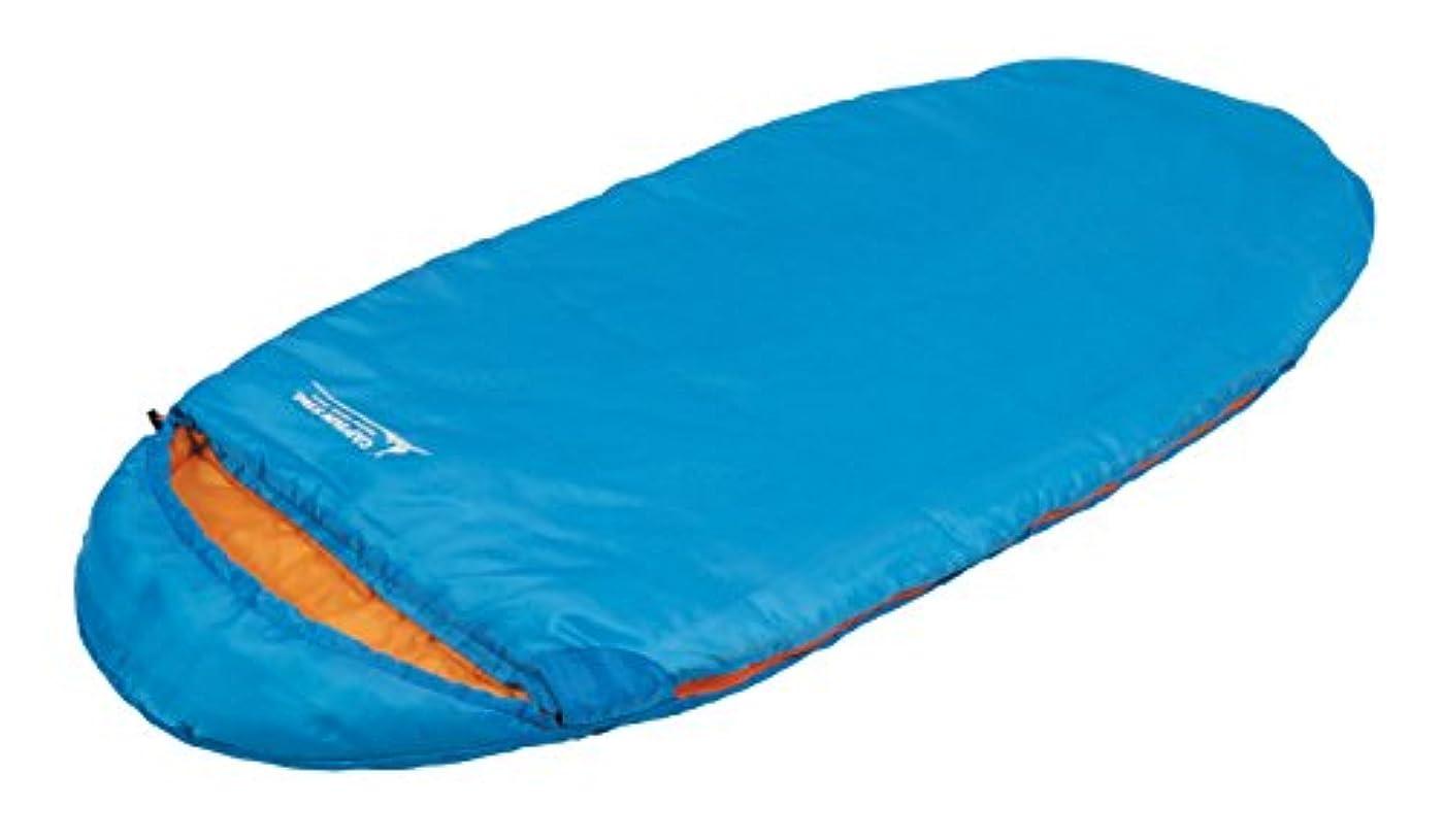 ラボ怠感増加するキャプテンスタッグ(CAPTAIN STAG) 寝袋 シュラフ エッグ型シュラフ 【最低使用温度10度】 丸洗い 収納袋付き