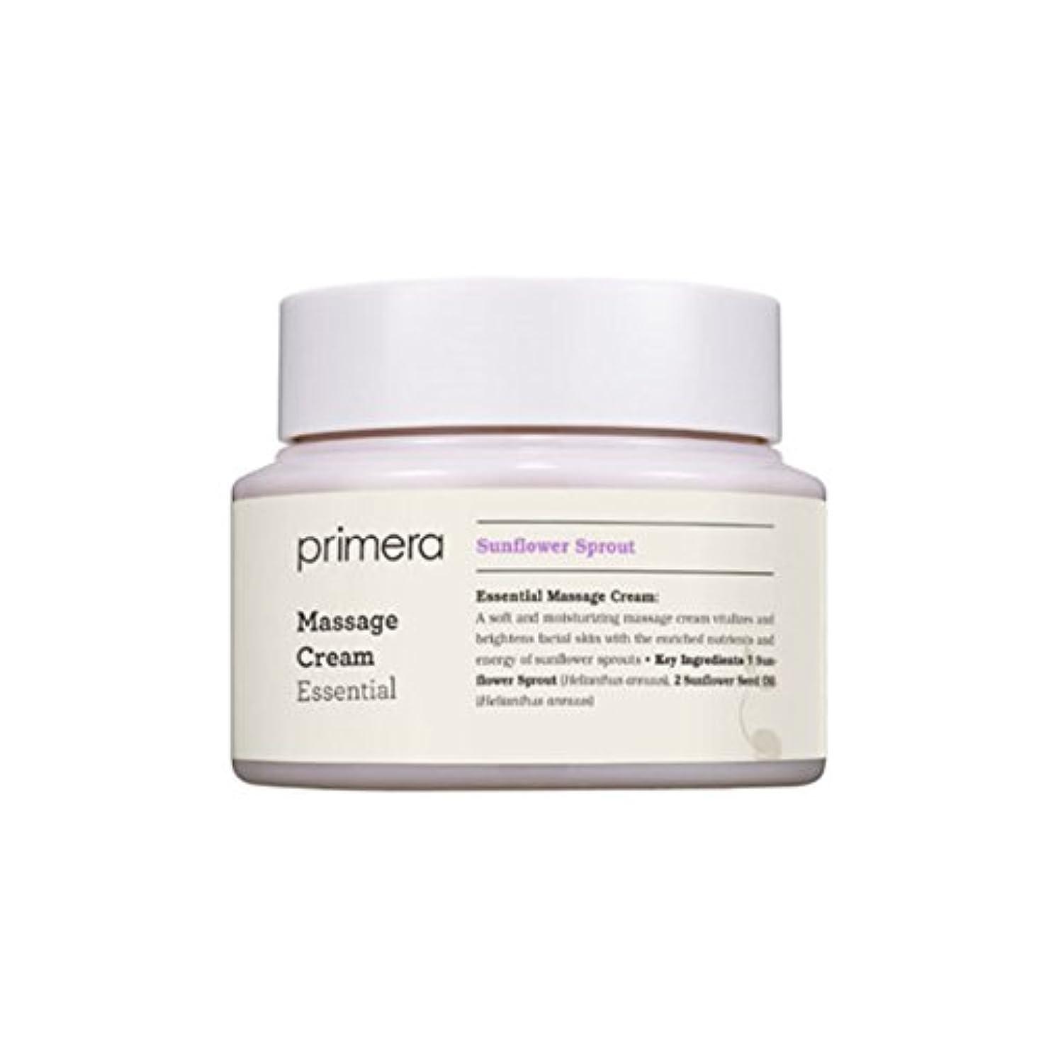 あえて画家どうしたの(プリメーラ) PRIMERA エッセンシャルマッサージ クリーム Essential Massage Cream (韓国直発送) oopspanda