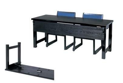 木製高脚テーブル M黒木目 4本脚 11000140 2人膳