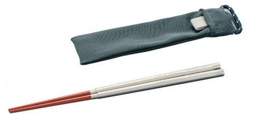 エバニュー チタン箸スライドタイプ漆 EBY245