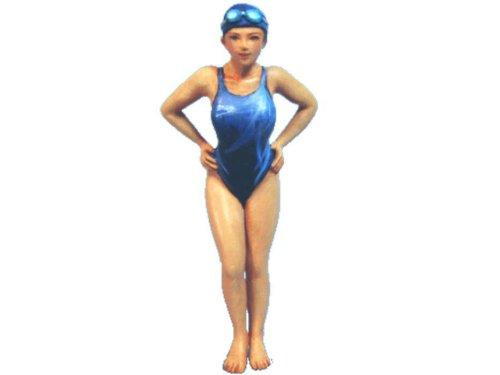 オーロラモデル 1/32フィギュア 競泳選手 ガレージキット SK10
