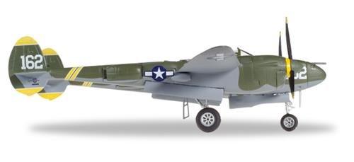 ヘルパ 1/72 P-38J アメリカ陸軍航空軍 ペリー・ジョン「PJ」ダール搭乗機 Pee Wee 44-23314 完成品