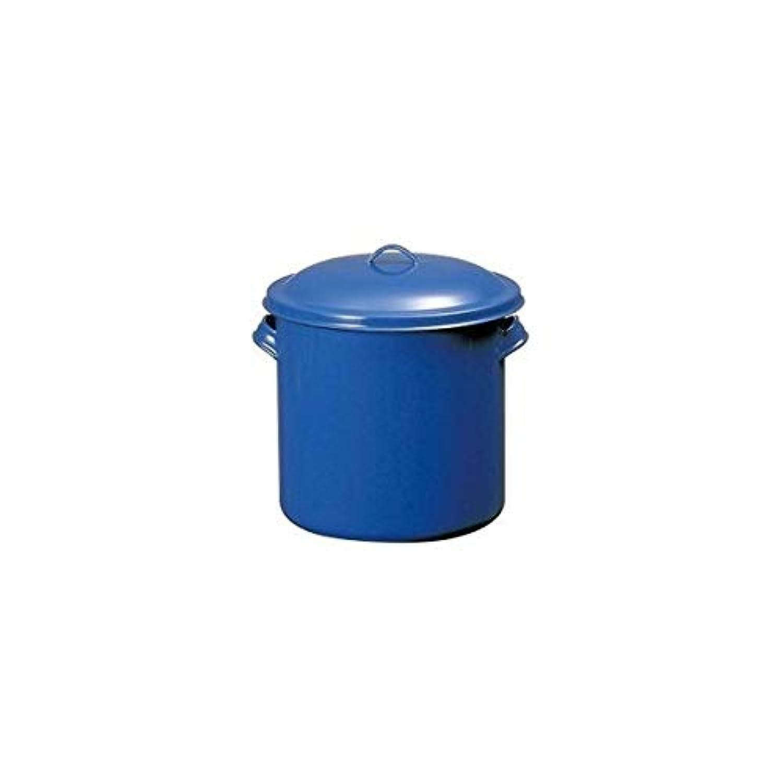 TOP印ホーローキッチンポット(手付) 14cm AKT16014