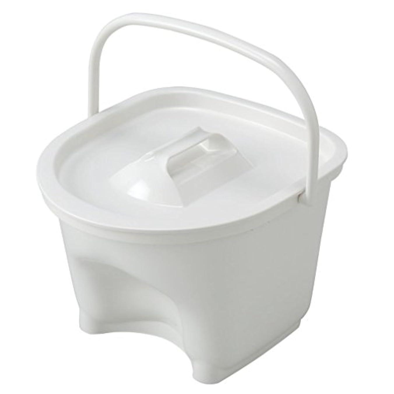 白内障カロリーページェントアロン化成 安寿 KX-2ポータブルトイレ用バケツ(標準)