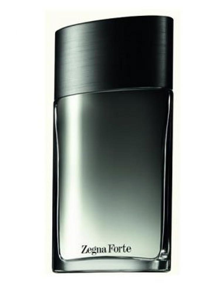 思春期これら島Zegna Forte (ゼニア フォルテ) 3.4 oz (100ml) EDT Spray by Ermenegildo Zegna for Men
