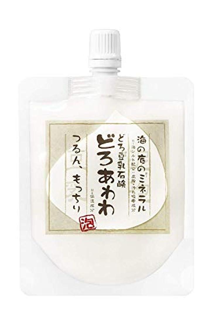 特権的インターネット気質【ネット付】どろ豆乳石鹸 どろあわわ 110g