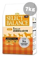 セレクトバランス ライト ラム小粒 7kg 【サンプルフードプレゼント】