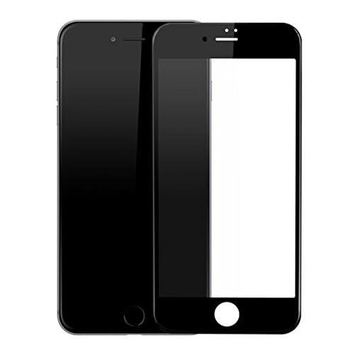 Lachace iPhone 6 plus 6s plus 用 強化ガラス 液晶保護フィルム ガラスフィルム 3D ランドエッジ 加工 全面保護 ブラック