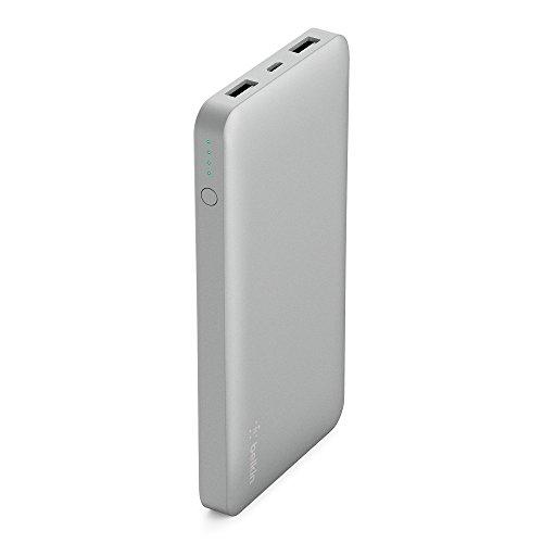 belkin モバイルバッテリー 10,000mAh usbポート2個 micro-USBケーブル付[国内正規品]Pocket Power F7U020BTSLV-A