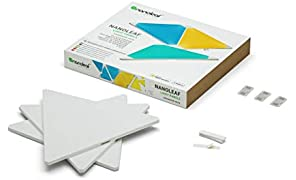 Nanoleaf NL22-0001TW-3PK Light Panels Expansion Kit, 3 Pieces, Assorted