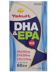 【ヤクルトヘルスフーズ】DHA&EPA 500 300粒 ×3個セット
