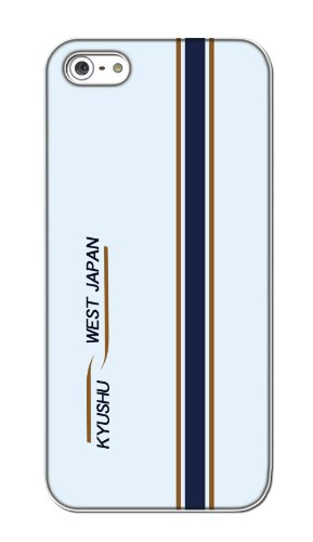 [ カバ鉄 ] apple iPhone5/5s/SE ケース アップル アイフォーン5/5s/SE カバー クリア ハード 【電車 018】 九州新幹線 N700系 みずほ